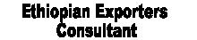 Ethiopian Exporters Consultant